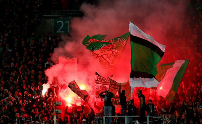 Les supporters des Verts ont pourtant tout donné pour pousser leur équipe, mais l'ASSE n'a jamais su enflammer le match.