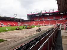 Geruïneerde grasmat FC Twente vervangen: 'Ligt er fantastisch in'