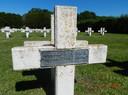 Met een tot Gerard verbasterde naam wordt Gerrit Buursink herdacht op de militaire erebegraafplaats in Rougemont.