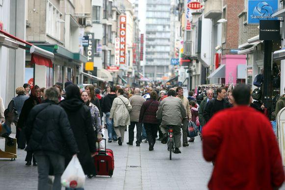De Kapellestraat in Oostende.