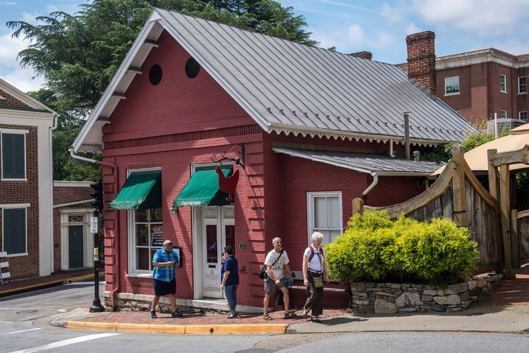 The Red Hen in Lexington. Beeld AP