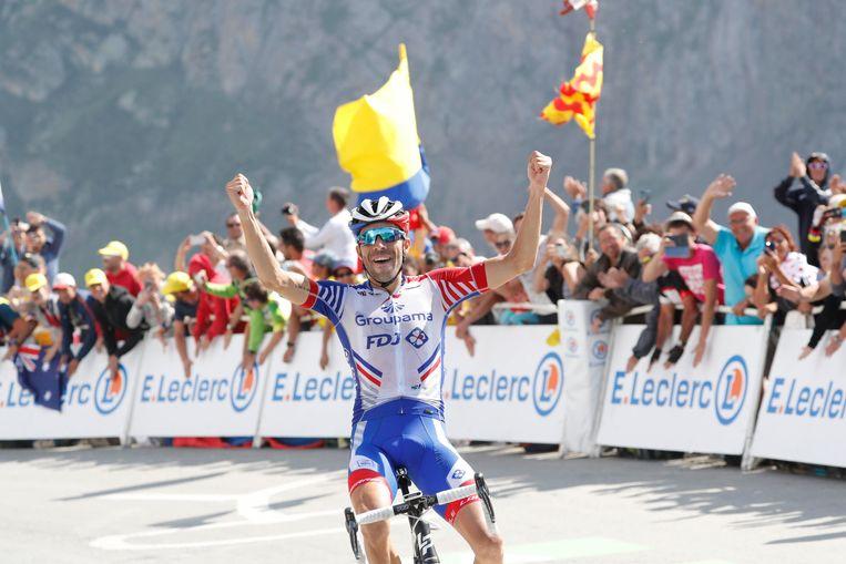 Pinot won vorig jaar de rit met aankomst op de Col du Tourmalet.