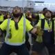 All Blacks op luchthaven onthaald met Haka