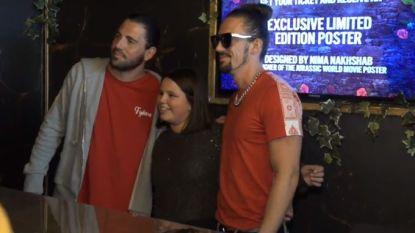 Vegas & Like Mike verkopen persoonlijke eerste concerttickets op de Meir
