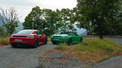 Porsche Cayman en Boxster GTS bieden het beste van twee werelden