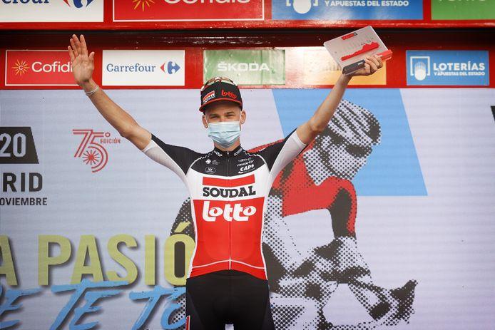 Objectif déjà rempli pour l'équipe Lotto-Soudal sur la Vuelta. Grâce à Tim Wellens.
