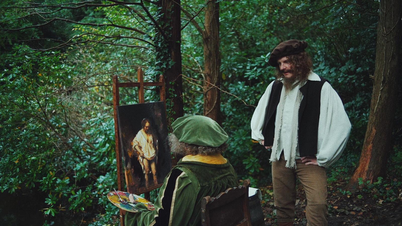 Jim Deddes met Michiel Romeyn in de Nederlandstalige Amazon-serie Trecx