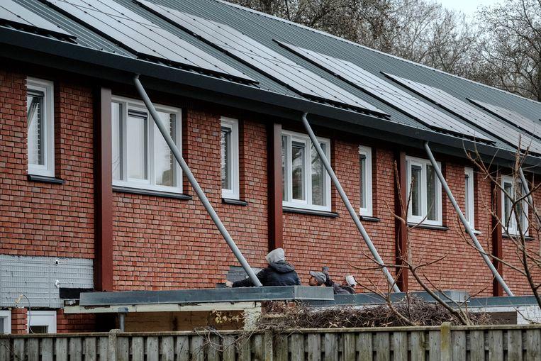 Sociale huurwoningen in Eindhoven die energie vriendelijk zijn. Beeld Merlin Daleman