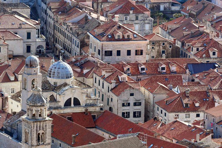 In de echte wereld is dit Dubrovnik. In die van Game of Thrones is het King's Landing, de stad waar de IJzeren Troon staat. Beeld AFP