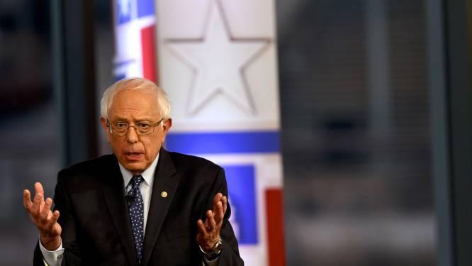"""Miljonair Bernie Sanders: """"Waarom vraag je ook niet aan Trump hoeveel belastingen hij betaalt?"""""""