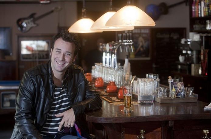 Chris Hordijk, deelnemer aan de talentenjacht The Voice Of Holland. foto Herman Stover
