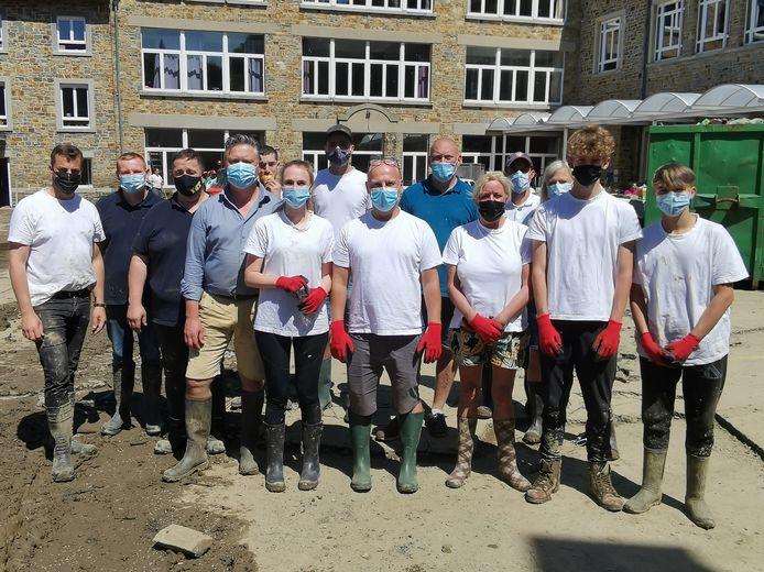 De Bommels in La Roche: helpen waar het kan.