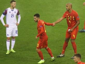 """Kompany over Hazard: """"Als zijn fysieke problemen opgelost zijn, wordt hij weer geweldige speler die z'n plaats heeft in Madrid"""""""