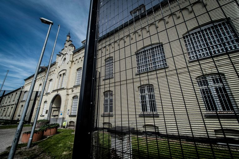 De gevangenis van Merksplas.  Beeld CREDIT: ID/ Jonas Roosens