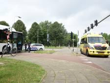 Fietsster gewond door ongeluk met stadsbus in Ede