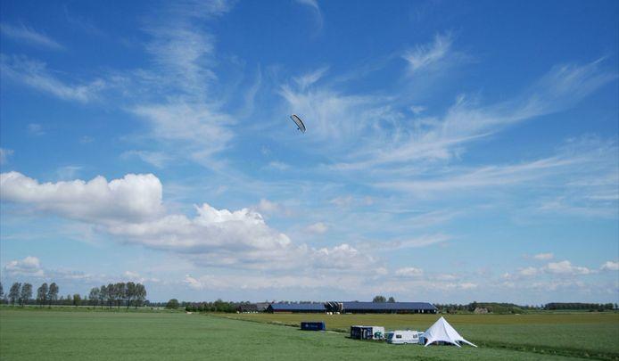 De vlieger van Kitepower in actie.