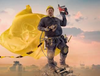 Bouwbedrijf lanceert opvallende campagne met 'Dulle Van Hulle'-helden