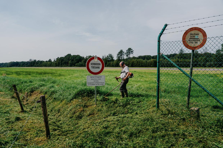 Het militair domein in Ursel, een deelgemeente van Aalter. Beeld Wouter Van Vooren
