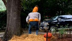 Man moet Halloween-pompoenen censureren van buren