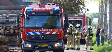 Brand bij klompenmaker in Schijndel, vermoedelijk asbest vrijgekomen