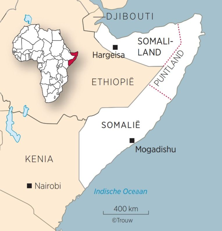 Somalië en Somaliland Beeld Brechtje Rood
