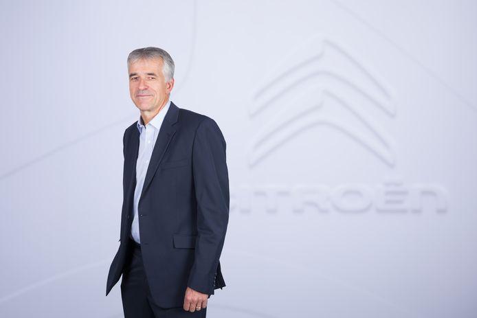 Vincent Cobée werkte eerder bij Mitsubishi en Nissan en is sinds vorig jaar de baas bij Citroën.