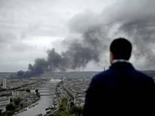 Incendie d'une usine chimique à Rouen: le feu est éteint