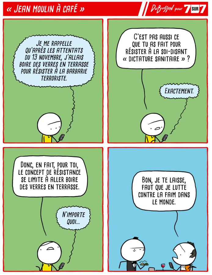 """""""Jean Moulin à café"""", 13 septembre 2021."""