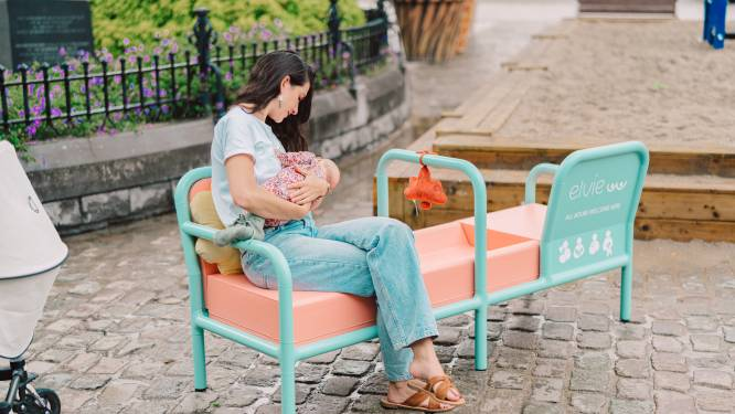 """Eerste publieke borstvoedingsbank van België staat in Kortrijk: """"We willen taboe doorbreken, het is de natuurlijkste zaak ter wereld"""""""