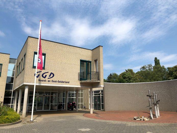 GGD Noord- Oost-Gelderland in Warnsveld.
