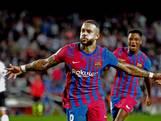 Barça knokt zich dankzij Memphis en Dest naar zege op Valencia