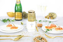 En  accompagnement d'un foie gras ou de saumon fumé, pour lier ou déglacer une sauce, cette gelée invite au raffinement. A servir très frais! Prix: 16,80 euros/110 gr. Disponible chez Rob The Gourmet's Markt.