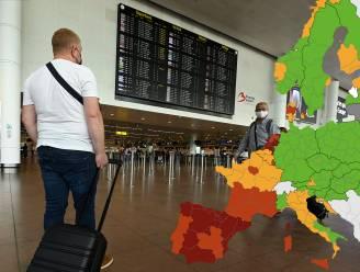 Steeds minder groene gebieden op Europese coronakaart: zuidelijke helft Frankrijk rood, Italië grotendeels oranje