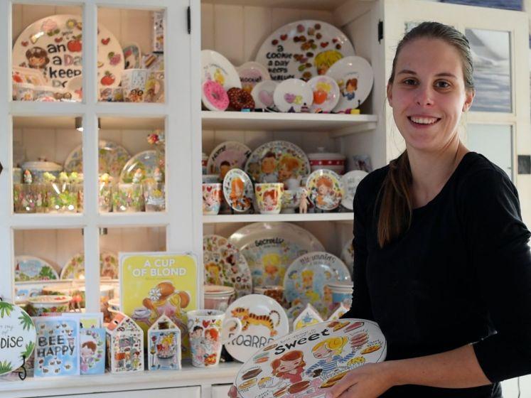 Charlene (26) heeft voor kapitaal aan servies van Blond Amsterdam in de kast