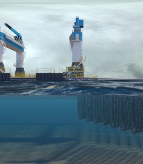 Offshorebedrijf OOS lanceert mosselfarm: 'Dit schip maakt kweek op de Noordzee mogelijk'