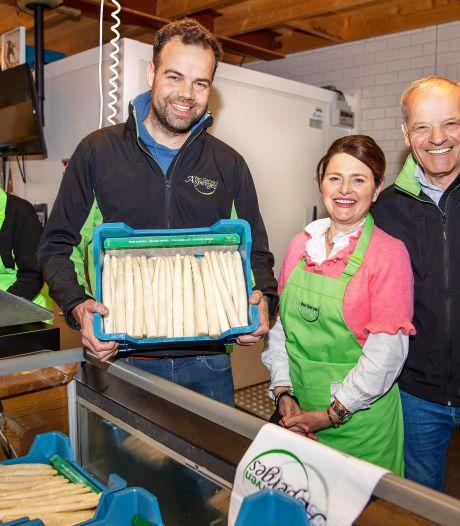 De asperges komen met moeite hun bed uit: 'Kou leidt tot minder aanbod en hogere prijzen'