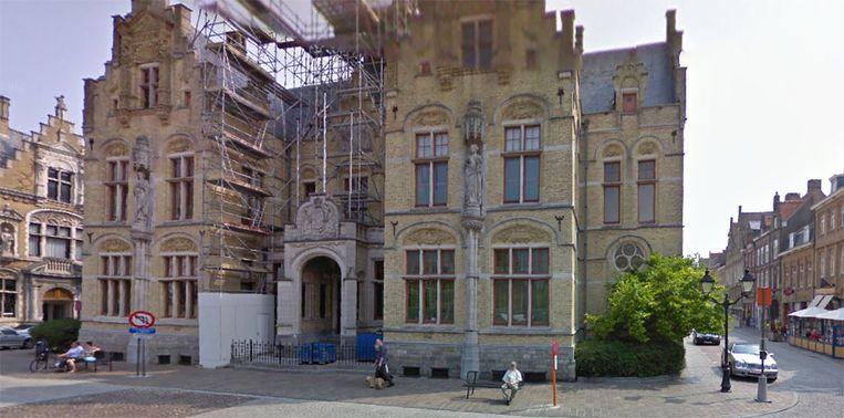 De rechtbank van Eerste Aanleg in Ieper.