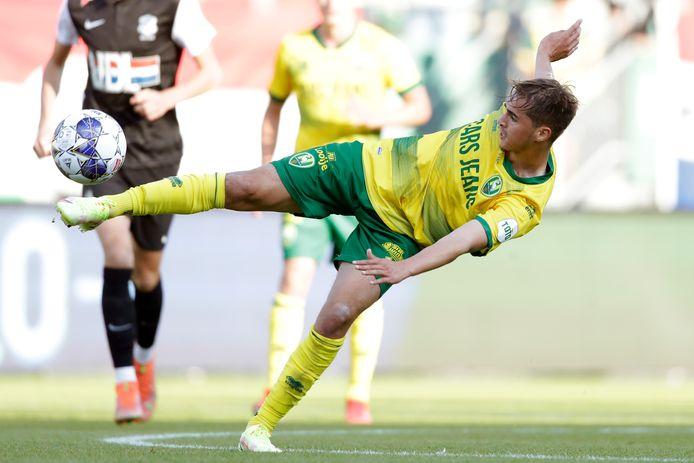 Samy Bourard toonde FC Eindhoven direct dat hij één van de betere spelers is bij ADO Den Haag.