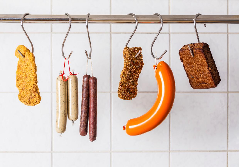 Vegetarische 'worsten'. Beeld Getty Images/Westend61