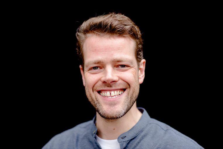 Cabaretier Martijn Koning kreeg flinke kritiek op zijn roast van Thierry Baudet in 'Jinek' (RTL). Beeld ANP Kippa