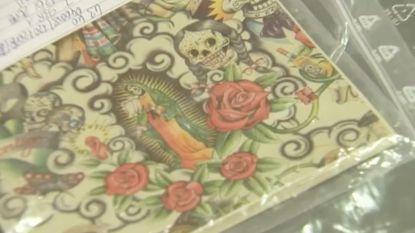 Recordvangst: 49.500 lsd-trips in bont gekleurde papiertjes in beslag genomen