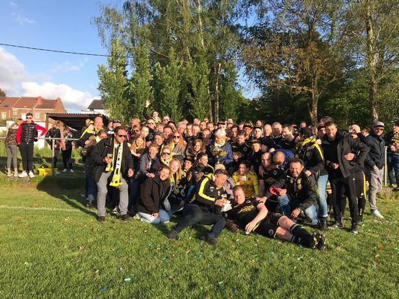 Groepsfoto op de vorige editie van het tornooi van VK Daltons.