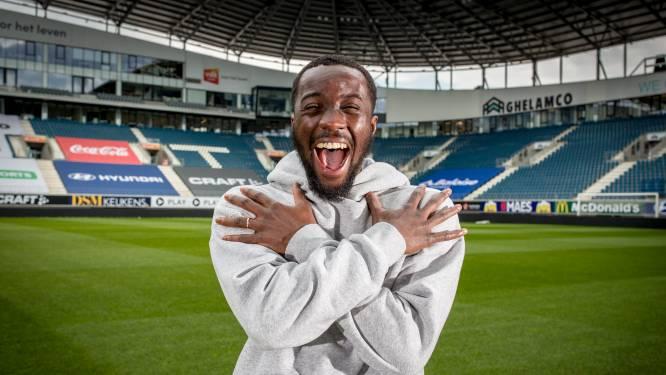 """Elisha Owusu kan alleen vrede nemen met ticket voor play-off 2 met AA Gent: """"Waar ik vandaan kom, laat je het niet hangen"""""""