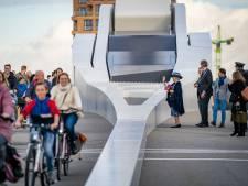 Prins Clausbrug geopend door prinses Beatrix: 'Oude en nieuwe Dordrecht verbonden'