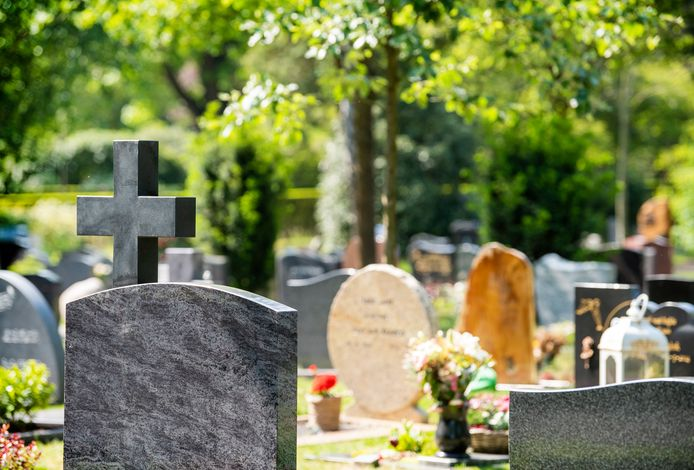 Begraafplaats, foto ter illustratie.