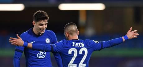 Ziyech loodst Chelsea met eerste goal op Stamford Bridge naar kwartfinales CL