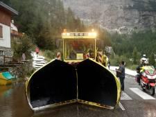 Etappe naar Val Thorens ingekort door modderstroom