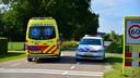 Het ongeval gebeurde ter hoogte van de kruising van de N607 met het Mathijseind en het Ravensgat.