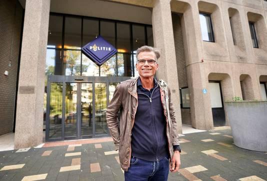 Hans Nijenhuis is weer vrijgelaten na zijn aanhouding bij een actie van Extinction Rebellion in Den Haag.