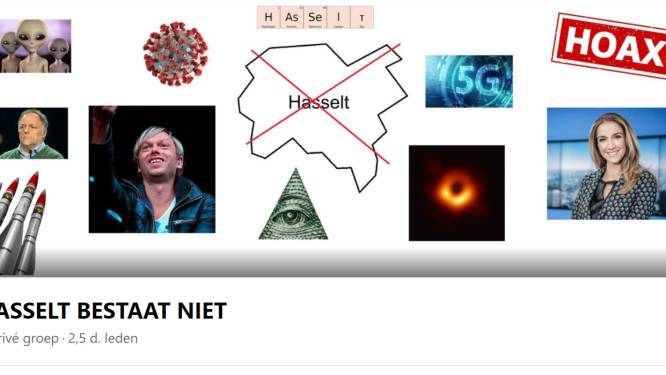 """""""Parodie op complottheorieën"""", maar hoax 'Hasselt bestaat niet' doet flink de ronde op sociale media"""